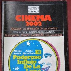 Cine: CINEMA 2002 NÚMERO 65-66. Lote 135601838