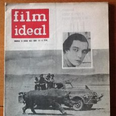 Cinema: FILM IDEAL 112, ENERO 1963. HATARI DE HOWARD HAWKS. BUSTER KEATON. Lote 135638435