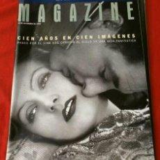 Cine: CIEN AÑOS DE CINE EN CIEN IMAGENES - MAGAZINE LA VANGUARDIA (1994) REPORTAJE EL CINE DEL SIGLO XX. Lote 135649403