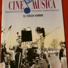 Cine: CINE MUSICA - EL TERCER HOMBRE (1993) FASCICULO Nº 53 BANDAS SONORAS DE GRANDES EXITOS DEL CINE. Lote 135668143