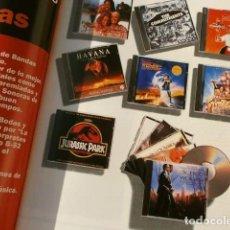 Cine: BANDAS SONORAS ORIGINALES (1995) FASCICULO PROMOCION COLECCION GRANDES CANCIONES PELICULAS - ALTAYA. Lote 135670447