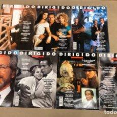 Cine: LOTE DE 7 REVISTAS DIRIGIDO POR (AÑO 1991/92/94). VER DESCRIPCIÓN.. Lote 135711711