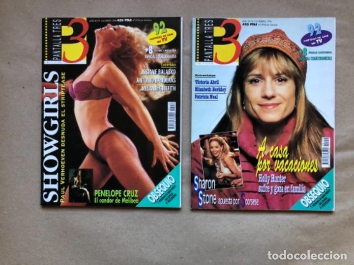 Cine: LOTE DE 13 REVISTAS, PANTALLA TRES 3. DESDE 1993 A 1996. - Foto 6 - 135817270