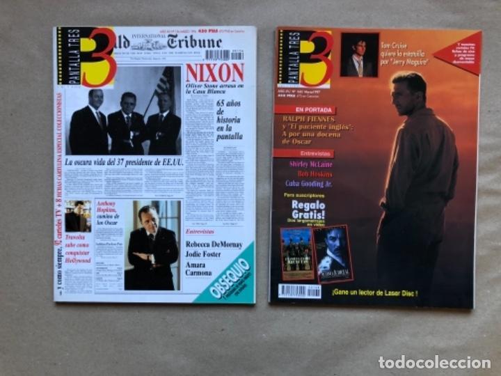Cine: LOTE DE 13 REVISTAS, PANTALLA TRES 3. DESDE 1993 A 1996. - Foto 7 - 135817270