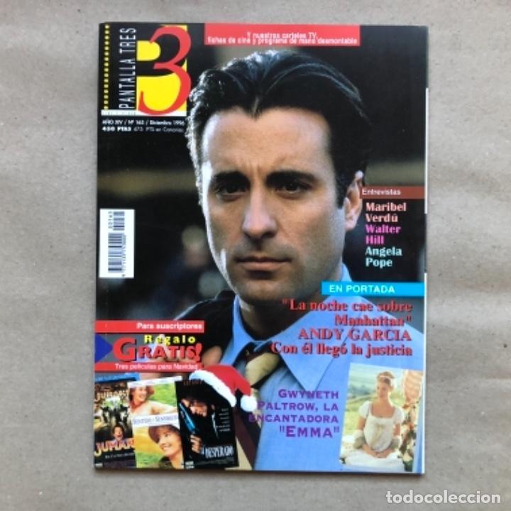Cine: LOTE DE 13 REVISTAS, PANTALLA TRES 3. DESDE 1993 A 1996. - Foto 8 - 135817270