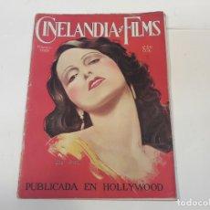 Cine: REVISTA CINELANDIA Y FILMS. FEBRERO DE 1929.. Lote 134084734