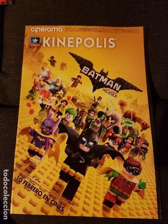 CINERAMA NÚMERO 257 KINEPOLIS BATMAN LA LEGO PELÍCULA (Cine - Revistas - Cinerama)