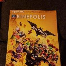 Cine: CINERAMA NÚMERO 257 KINEPOLIS BATMAN LA LEGO PELÍCULA. Lote 135844234