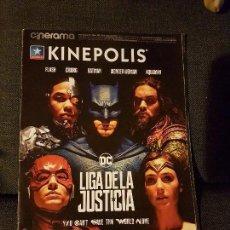 Cine: CINERAMA KINEPOLIS NÚMERO 265 LIGA DE LA JUSTICIA COCO. Lote 135844566