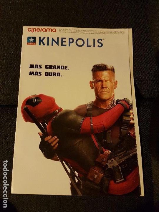 CINERAMA KINEPOLIS NÚMERO 271 DEADPOOL 2 (Cine - Revistas - Cinerama)