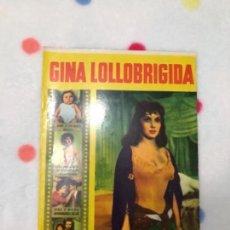 Cine: ANTIGUA REVISTA PARA MAYORES COLECCIÓN CINECOLOR CON GINA LOLLOBRIGIDA (AÑO 1958). Lote 135944190