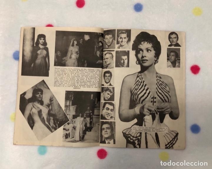 Cine: ANTIGUA REVISTA PARA MAYORES COLECCIÓN CINECOLOR CON GINA LOLLOBRIGIDA (AÑO 1958) - Foto 2 - 135944190