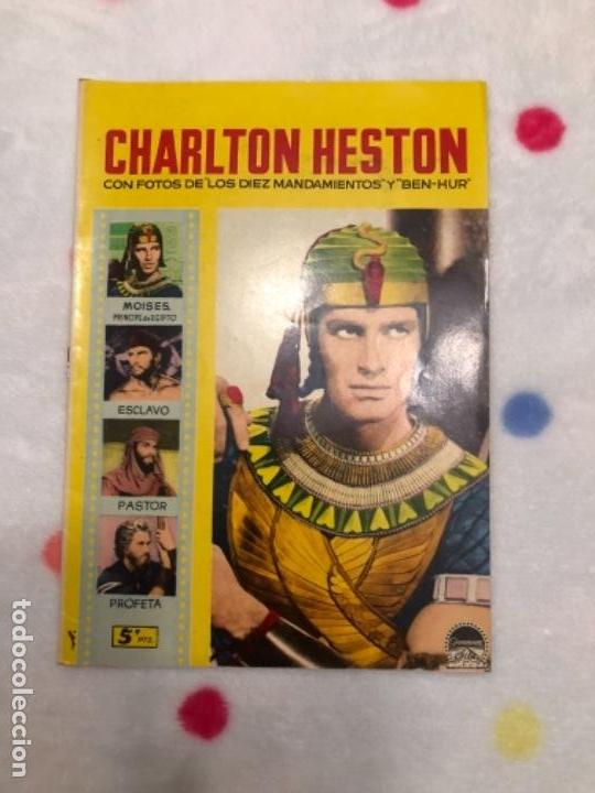 ANTIGUA REVISTA PARA MAYORES COLECCIÓN CINECOLOR CON CHARLTON HESTON (AÑO 1958) (Cine - Revistas - Cinecolor)