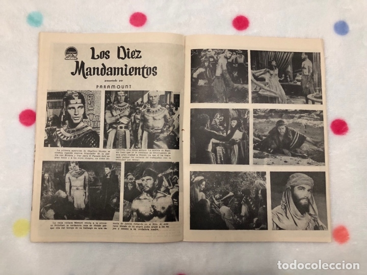 Cine: ANTIGUA REVISTA PARA MAYORES COLECCIÓN CINECOLOR CON CHARLTON HESTON (AÑO 1958) - Foto 2 - 135944746