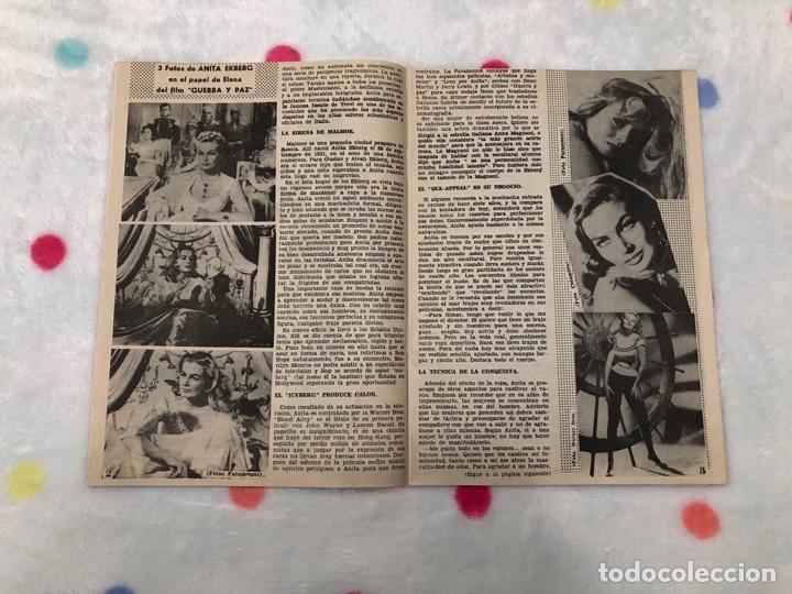 Cine: ANTIGUA REVISTA PARA MAYORES COLECCIÓN CINECOLOR CON ANITA EKBERG (AÑO 1958) - Foto 2 - 135945442