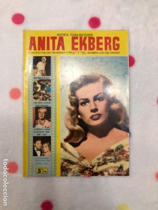 ANTIGUA REVISTA PARA MAYORES COLECCIÓN CINECOLOR CON ANITA EKBERG (AÑO 1958) (Cine - Revistas - Cinecolor)