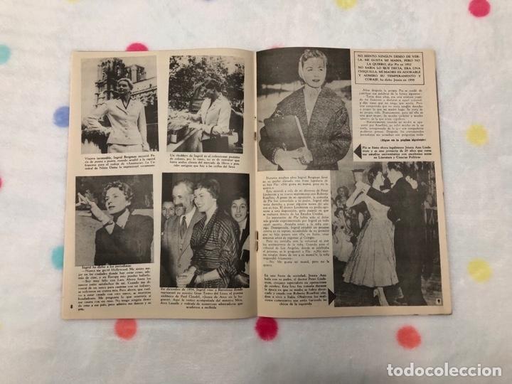 Cine: ANTIGUA REVISTA PARA MAYORES COLECCIÓN CINECOLOR CON INGRID BERGMAN (AÑO 1958) - Foto 2 - 135945542