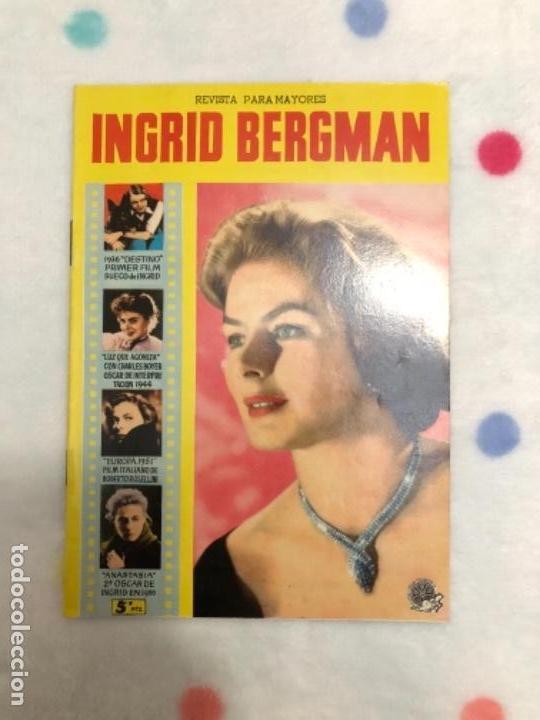 ANTIGUA REVISTA PARA MAYORES COLECCIÓN CINECOLOR CON INGRID BERGMAN (AÑO 1958) (Cine - Revistas - Cinecolor)