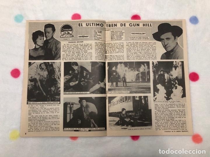 Cine: ANTIGUA REVISTA PARA MAYORES COLECCIÓN CINECOLOR CON KIRK DOUGLAS (AÑO 1958) - Foto 2 - 135945682