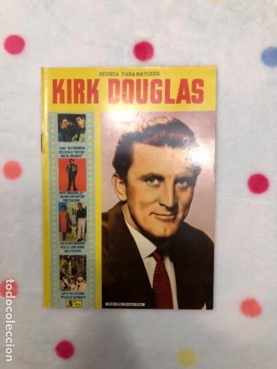 ANTIGUA REVISTA PARA MAYORES COLECCIÓN CINECOLOR CON KIRK DOUGLAS (AÑO 1958) (Cine - Revistas - Cinecolor)