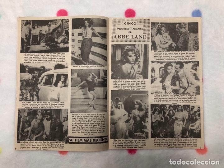Cine: ANTIGUA REVISTA PARA MAYORES COLECCIÓN CINECOLOR CON ABBE LANE (AÑO 1958) - Foto 2 - 135945778
