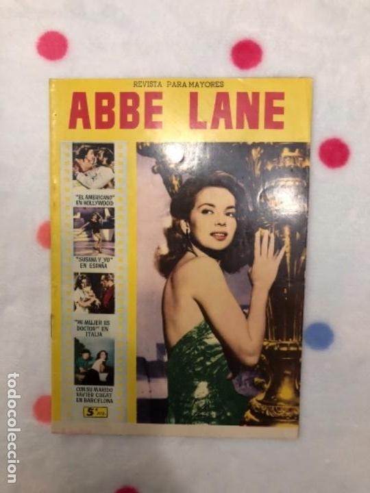 ANTIGUA REVISTA PARA MAYORES COLECCIÓN CINECOLOR CON ABBE LANE (AÑO 1958) (Cine - Revistas - Cinecolor)