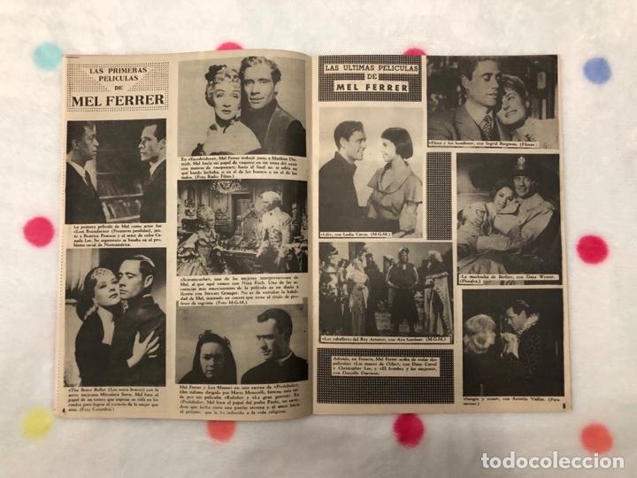 Cine: ANTIGUA REVISTA PARA MAYORES COLECCIÓN CINECOLOR CON MEL FERRER (AÑO 1958) - Foto 2 - 135945942