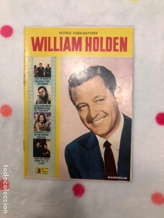 ANTIGUA REVISTA PARA MAYORES COLECCIÓN CINECOLOR CON WILLIAM HOLDEN (AÑO 1958) (Cine - Revistas - Cinecolor)