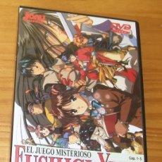 Cine: DVD FUSHIGI YUGI EL JUEGO MISTERIOSO . CAP. 1-5. Lote 136180946
