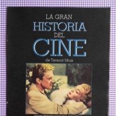 Cine: LA GRAN HISTORIA DEL CINE DE TERENCI MOIX. FASCÍCULO NÚMERO 6. 16 PÁGINAS. Lote 136296390