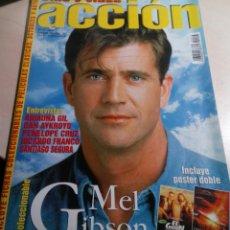 Cinema: MEL GIBSON.ESPECIAL GREASE.ESPECIAL LA ESPADA MAGICA.REVISTA ACCION Nº 73.1992.. Lote 136317090
