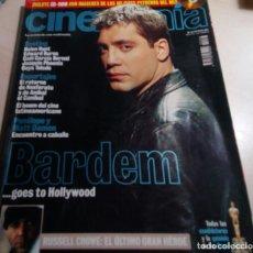 Cine - BARDEM.NOSFRERATU.RUSSELL CROWE.ANIBAL EL CANIBAL.REVISTA CINEMANIA Nº66.2001. - 136318402