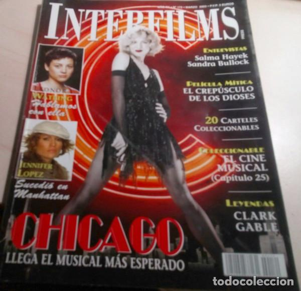 JENNIFER LOPEZ.CABALLÉ MAS ALLA DE LA MUSICA.WATLING.HAYEK.CHICAGO.REVISTA INTERFILMS Nº 172.2003. (Cine - Revistas - Interfilms)
