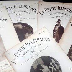 Cine: CINE MUDO - 1925 - LE PETITE ILLUSTRATION - DEL NUMERO 1 AL 5 . Lote 136631214