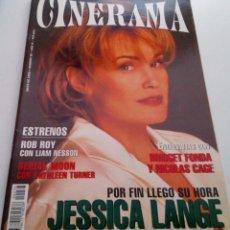Cine: LIAM NESSON.BRIDGET FONDA.JESSICA LANGE.REVISTA CINERAMA Nº36.1995.. Lote 136652174