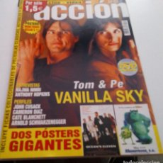 Cine: TOM CRUISE.PENELOPE CRUZ.STEPHEN KING.MONSTRUOS.REVISTA ACCION Nº117.2002.. Lote 205354083