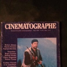 Cine: REVISTA CINEMATOGRAPHE-1979-ROBERT DE NIRO-ROGER CORMAN-SCORSESE-LUCHINO VISCONTI. Lote 136698342