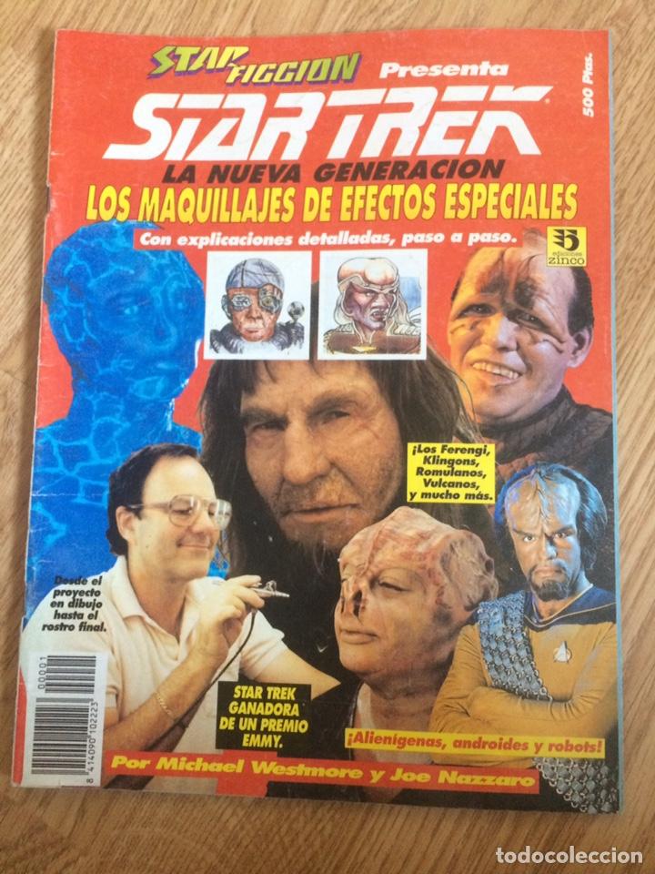 STAR FICCIÓN. LOS MAQUILLAJES DE STAR TREK, LA NUEVA GENERACIÓN (Cine - Revistas - Star Ficcion)