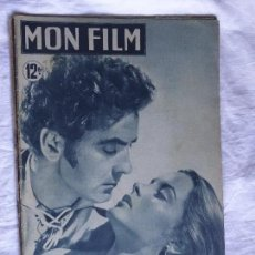 Cine: MON FILM Nº 163 05/10/1949 CAPITAINE DE CASTILLA (CAPITAN DE CASTILLA)TYRONE POWER-JEANNE PETERS. Lote 137588582