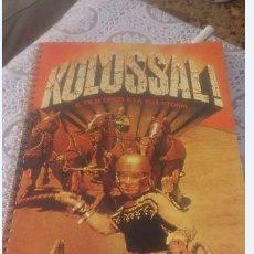 Cine: KOLOSSAL!. LA PELÍCULA ÉPICA Y SU HISTORIA - FRATELLI FABBRI EDITORI 1975 - EN ITALIANO. Lote 137606198