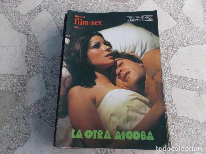 NUEVO FILM-SEX Nº 27,LA OTRA ALCOBA,AMPARO MUÑOZ,PATXI ANDION,SIMON ANDREU, VICKY LAGOS,1977 (Cine - Revistas - Otros)