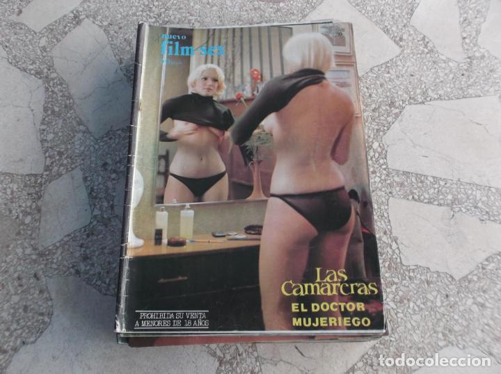 NUEVO FILM-SEX Nº 20,LAS CAMARERAS AGATA LIS, JAVIER ESCRIVA, EL DOCTOR MUJERIEGO (Cine - Revistas - Otros)