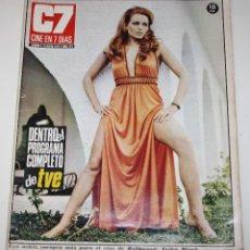 Cine: CINE 7 DIAS #571 ERIKA BLANK SHARON TATE POLANSKI SARA MONTIEL BARBARA BOUCHET BEATLES REVISTA. Lote 137792250
