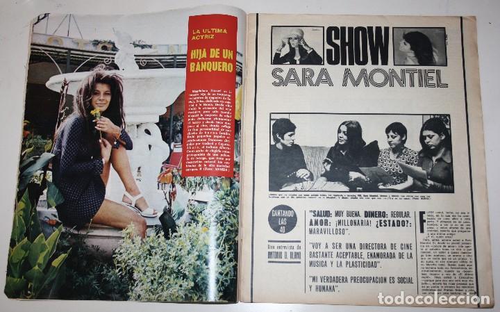Cine: CINE 7 DIAS #571 Erika Blank Sharon Tate Polanski Sara Montiel Barbara Bouchet Beatles revista - Foto 2 - 137792250