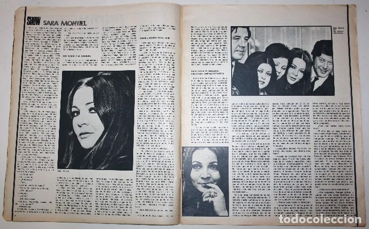 Cine: CINE 7 DIAS #571 Erika Blank Sharon Tate Polanski Sara Montiel Barbara Bouchet Beatles revista - Foto 3 - 137792250