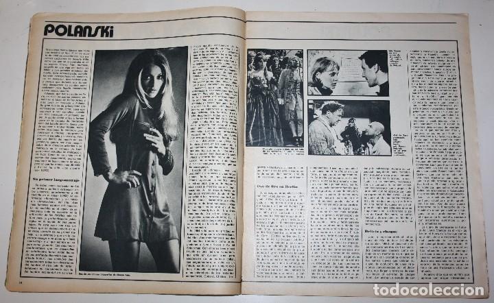 Cine: CINE 7 DIAS #571 Erika Blank Sharon Tate Polanski Sara Montiel Barbara Bouchet Beatles revista - Foto 5 - 137792250