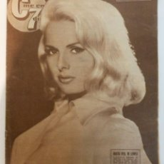 Cine: CINE EN 7 DIAS #192 1964 MARTHA HYER CARROLL BAKER BRIGITTE BARDOT ROCIO DURCAL MARUJITA DIAZ . Lote 137792606