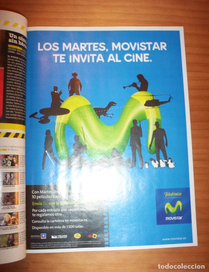 Cine: CINEMANÍA - Nº 145 - AÑO 2007 - PERFECTO ESTADO - Foto 3 - 137854626