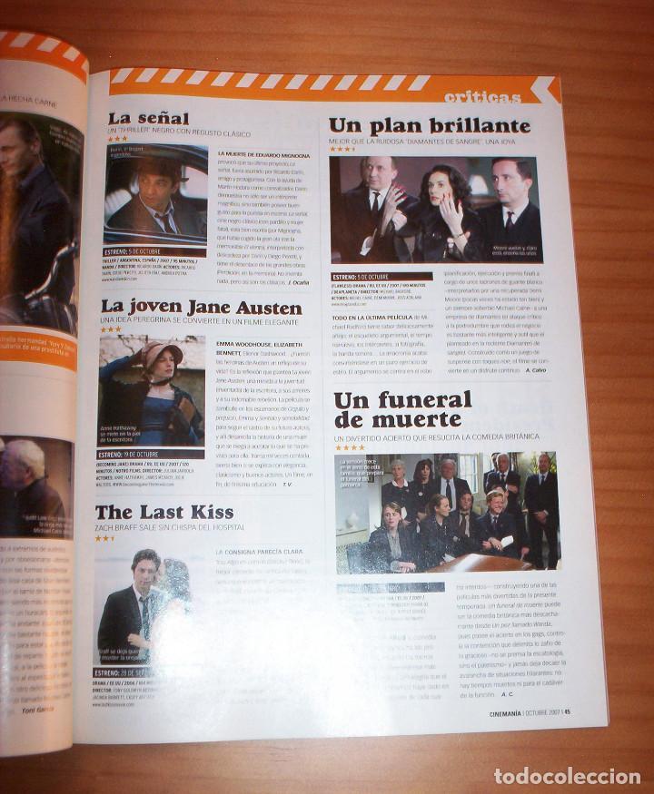Cine: CINEMANÍA - Nº 145 - AÑO 2007 - PERFECTO ESTADO - Foto 8 - 137854626