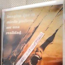 Cine: CARTEL PROMOCION PELICULA DE VIDEO - AULLIDOS - THE HOWLING - TAMAÑO FOLIO -. Lote 137911182